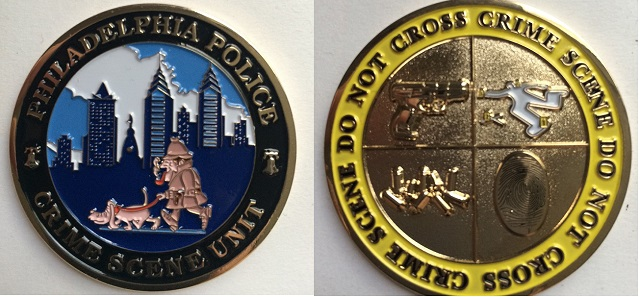 Philadelphia Police Issue Challenge Coin Featuring Holmes